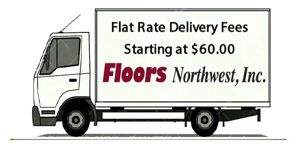 flat rate delivery fees